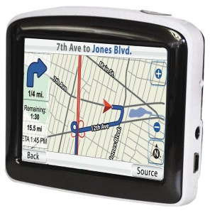 """3.5"""" GPS SYSTEM (CANADA & 48 US STATE MAPS)"""