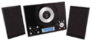 CD MICRO SYSTEM WITH ALARM CLOCK