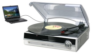 TURNTABLE (WITH DIRECT ENCODING TO PC)